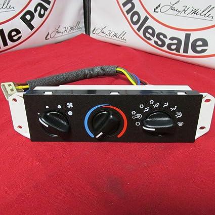 amazon com: 1994-2004 jeep wrangler a/c ac heater heat control head unit  switch mopar oem: automotive