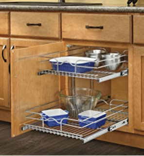 Amazon.com - Rev-A-Shelf - 5CW2-2122-CR - 21 in. Pull-Out 2-Tier ...