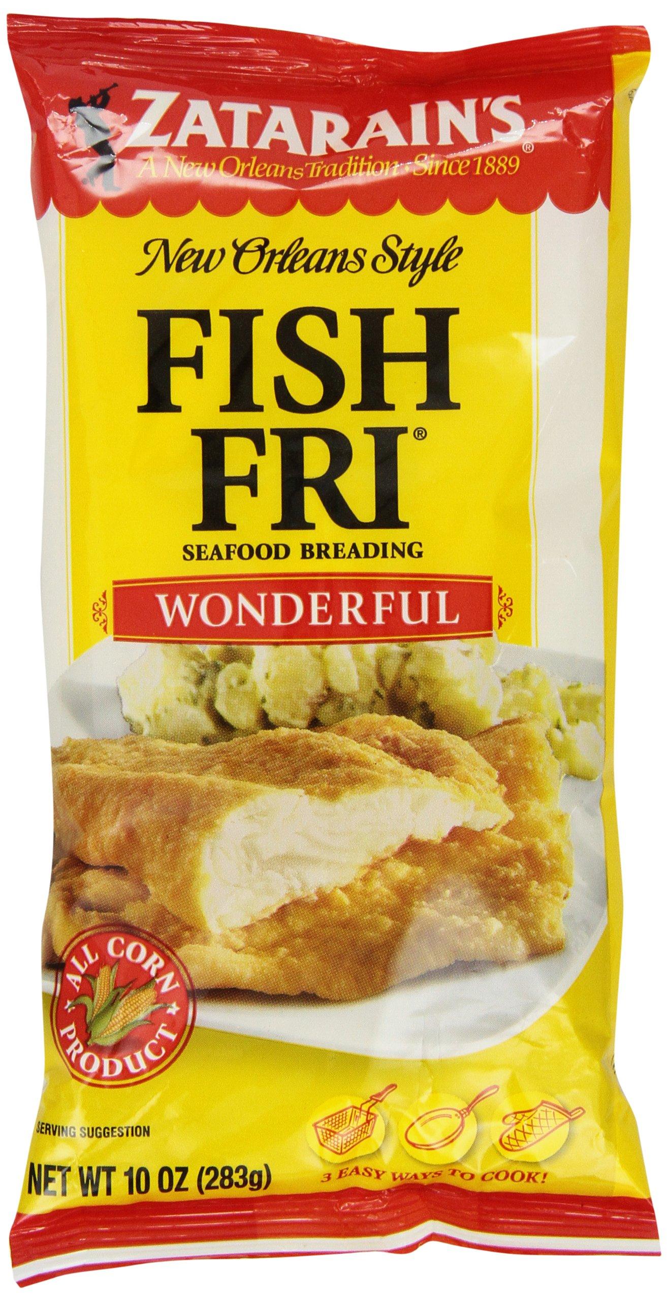 Zatarain's Fish Fry, Regular, 10-Ounce (Pack of 12)