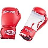 Ultrasport Boxhandschuhe PU rot/weiß - 10 / 12 / 14 / 16 Unzen