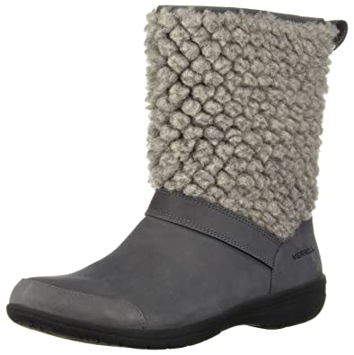 f0d2949b5f2 Merrell Women's Encore Kassie Tall Wool Fashion Boot, Castlerock, ...
