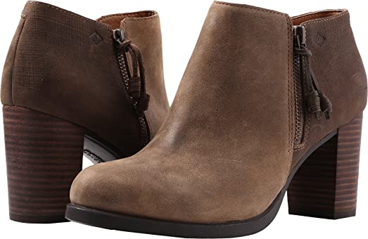Women's Dasher Lille Ankle Boot Brown 6 Medium US