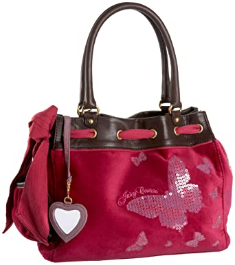 Juicy Couture Butterfly Daydreamer Bag Lotus Rouge  Amazon.co.uk  Clothing 65be87d4c906