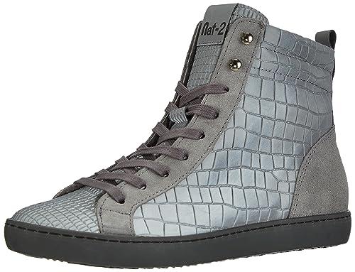Zapatillas Ii Mujer Zapatos Nat 2 altas Riri es y Amazon E61t1w