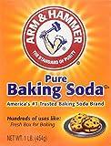 Arm & Hammer Pure Baking Soda 6 Packungen á 454g Packung (reines Backsoda / Natron)