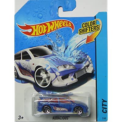 Hot Wheels 2014 City Color Shifters Audacious 2/48: Toys & Games