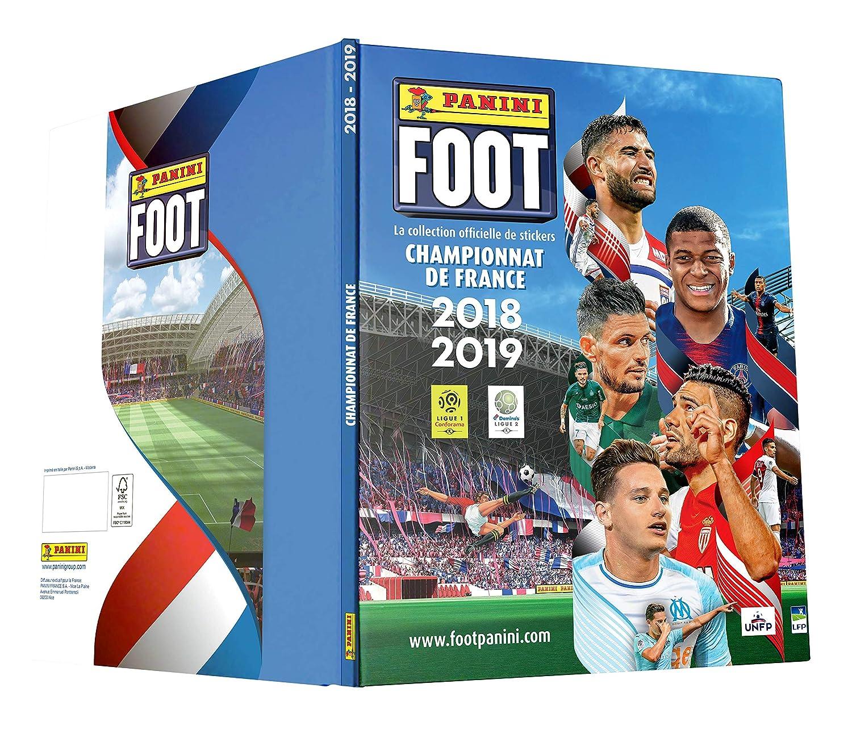 Panini Album cartonné Foot Championnat de France Stickers 2018-2019, 2428-018: Amazon.fr: Jeux et Jouets