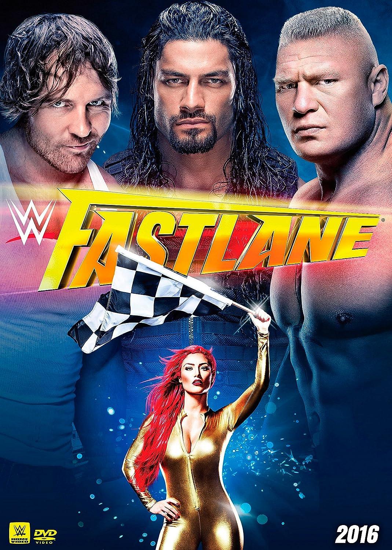 Amazon.com: WWE: Fastlane 2016: Roman Reigns, Dean Ambrose, Brock ...