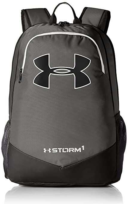 Under Armour UA Boys Scrimmage Backpack Mochila, Hombre, Gris (Graphite), 2.5