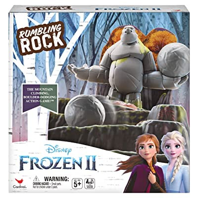Disney Frozen 2, Rumbling Rock Game for Kids and Families: Toys & Games