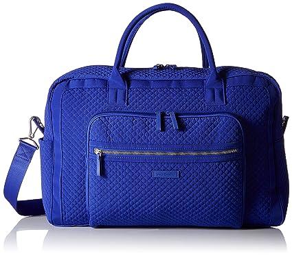 Amazon.com  Vera Bradley Iconic Weekender Travel Bag 8d06c6c71a3e7