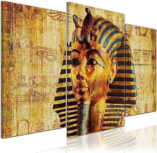 Bilderdepot24 Cuadros en Lienzo Faraón - Egipto - 100x60 cm 3 ...