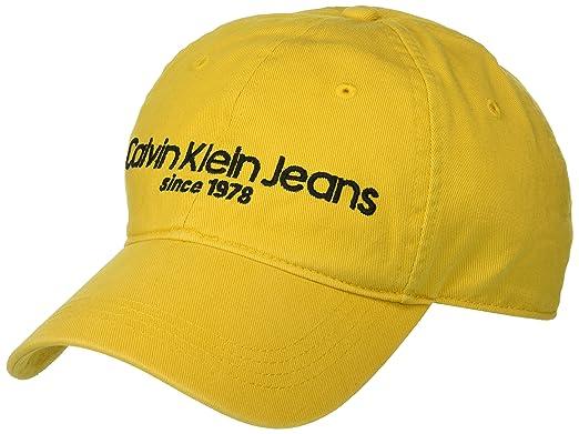 1bc9e1d3d10 Calvin Klein Jeans Men s Embroidered Logo Baseball Hat