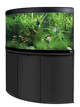 Fluval a11904 esquina Acuario Combinación (con visión panorámica Venezia, 350 L, color negro: Amazon.es: Productos para mascotas