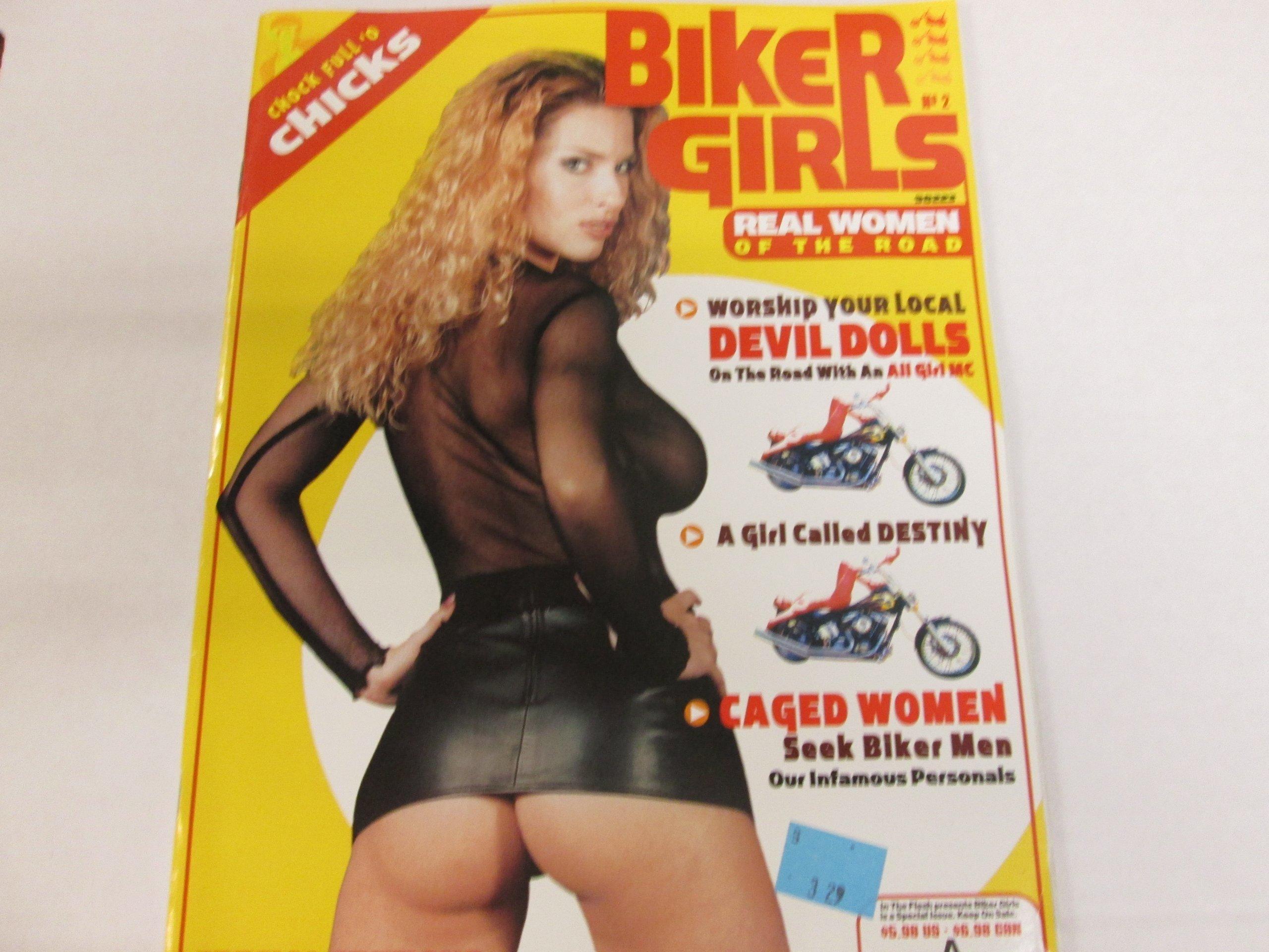 Biker Girls Magazine Destiny Bare Bottom Gals Nipple Lickers