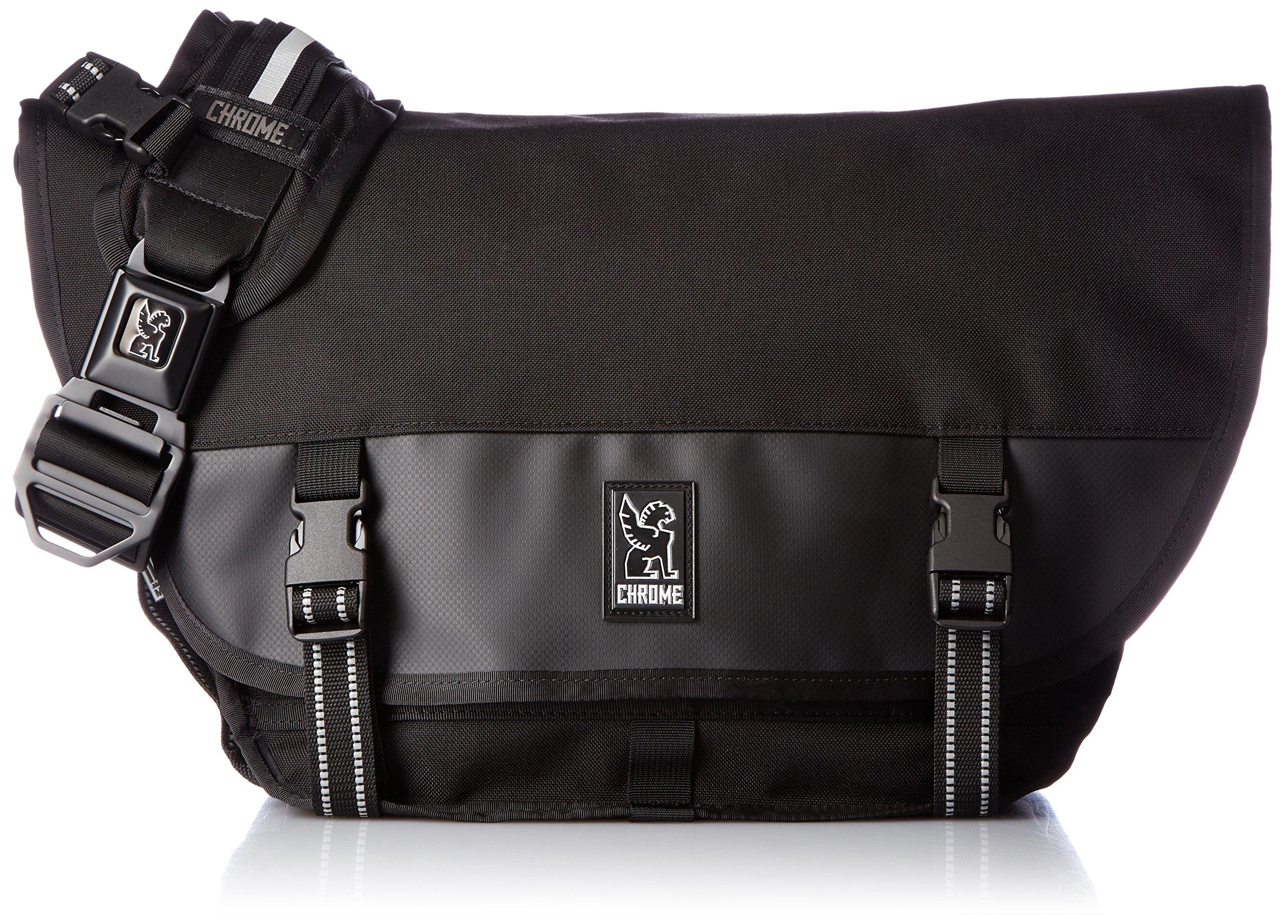 Chrome Industries Mini Metro Messenger Bag 15-inch Laptop Satchel Liter Black