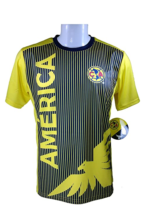 4583b16c811 Club America Soccer Official Adult Soccer Training Performance Poly Jersey  -J002 Large
