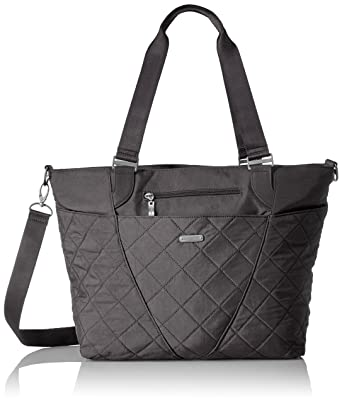 b7be8f6d0835 Amazon.com  Baggallini Quilted Avenue Tote with RFID