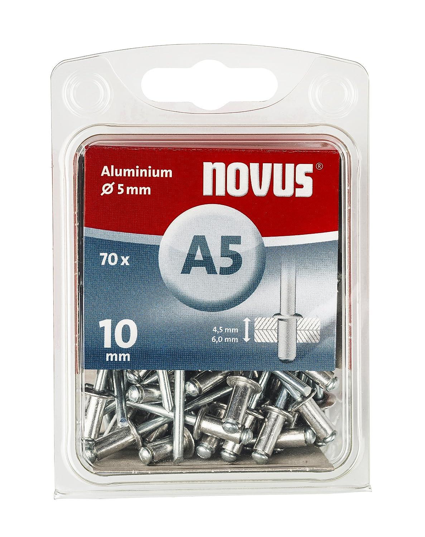 Novus 045-0047 Remache ciego A 5 X 8 Alu 70 St