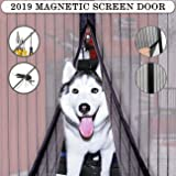 ASXON Magnetic Screen Door with Mesh Curtain to