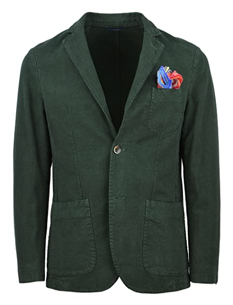 Scuro Giacca A152gege78 A0145 p Blazer At Uomo A co Verde Y14tFq