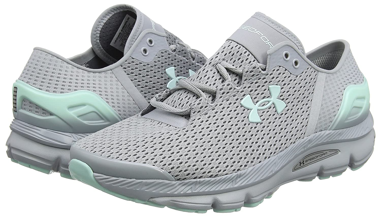 Under Armour Women's Speedform Intake 2 Running Shoe B0711K2HGL 5.5 B(M) US|Grey/Grey/Mint