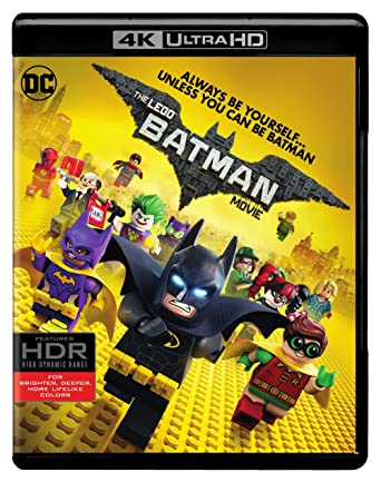 Amazoncom Lego Batman Movie The 2017 4k Uhdbd Blu Ray
