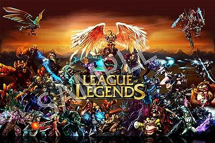 Amazon com: Best Print Store - League of Legends Characters