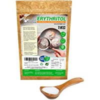 Eritritol 100% Natural Envase Ecologico 1Kg Edulcorante 0