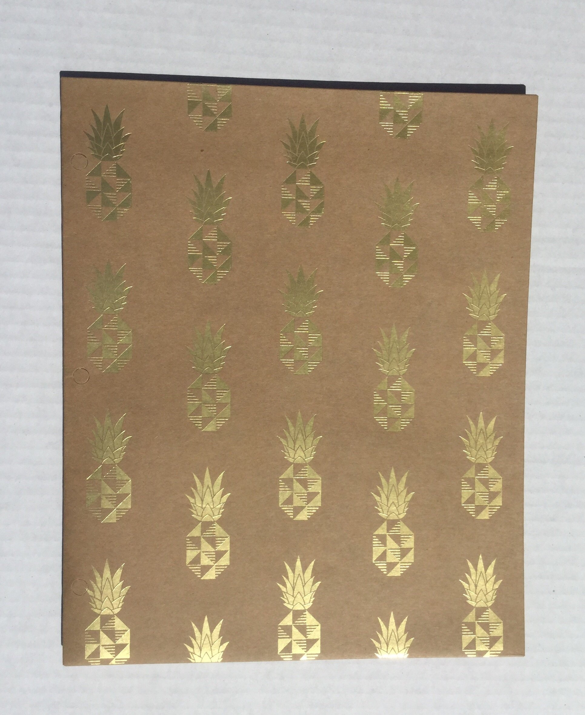 The She's Krafty Collection Pocket Folders (Pineapples)