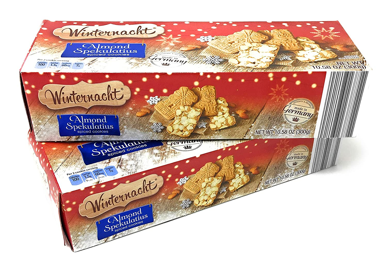 Amazon Com German Almond Spekulatius Spiced Cookies By Winter