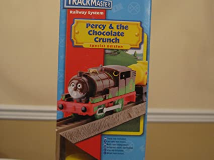 Fisher-Price Thomas and Friends Trackmaster Percy's Chocolate Crunch Train New