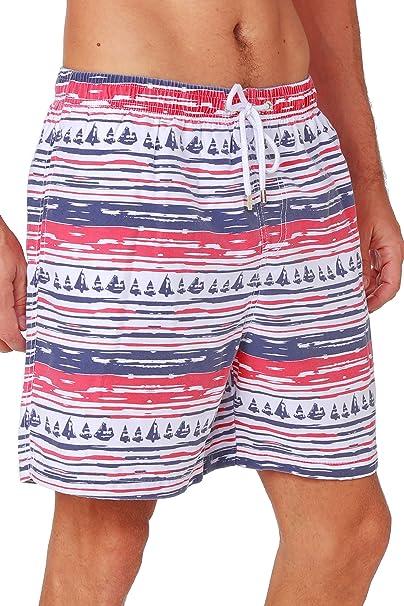 Snowflake Mens Running Casual Short Beach Pants Swim Trunks Drawstring Board Shorts Swimwear