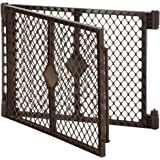 North States Two-Panel Yard Extension in Brown for Dogs