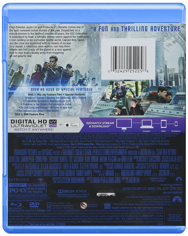 Star Trek Beyond (BD/DVD/Digital HD Combo) [Blu-ray]: Chris Pine ...