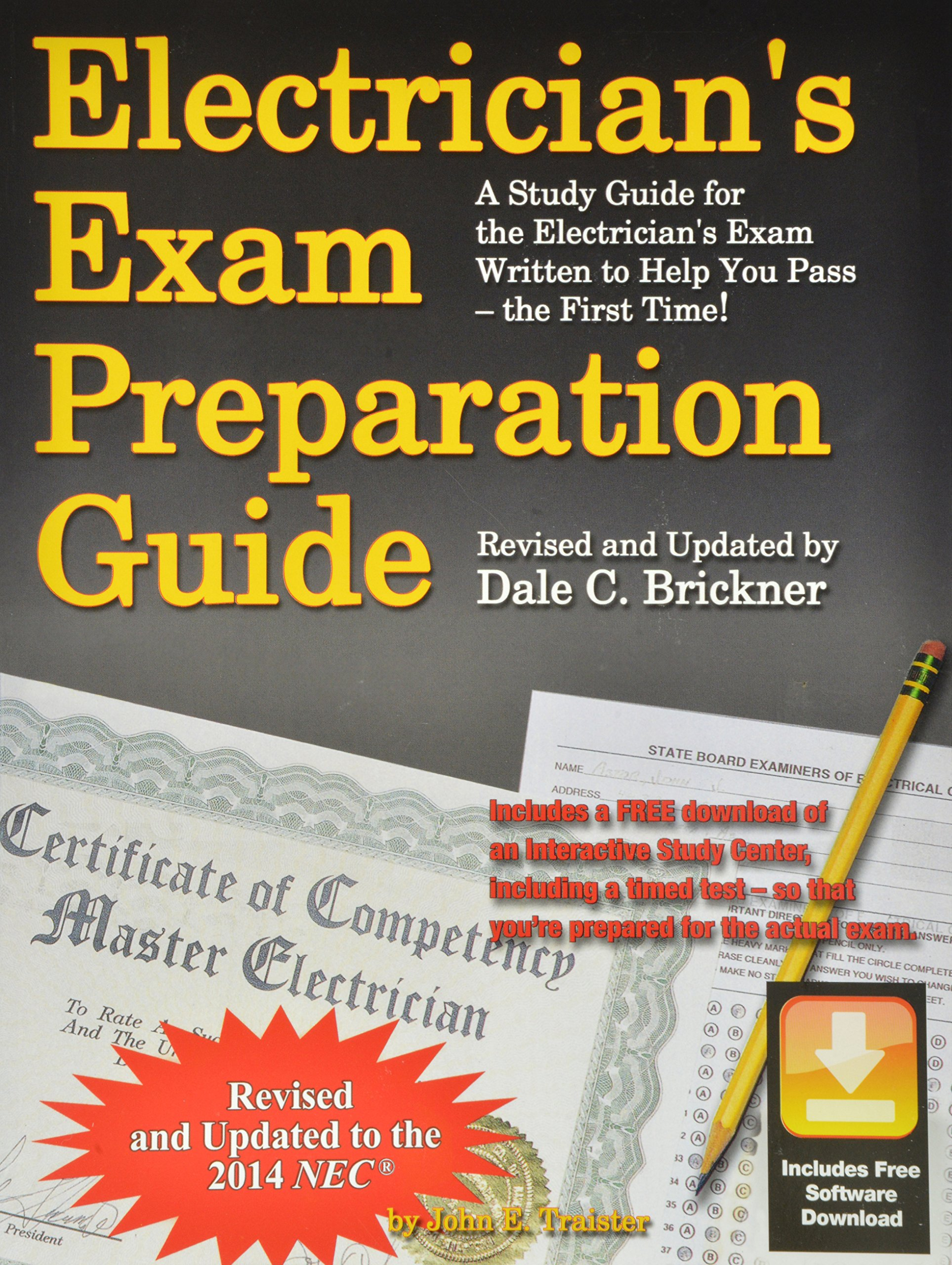 Electricians exam preparation guide to the 2014 nec john e electricians exam preparation guide to the 2014 nec john e traister 9781572183032 amazon books xflitez Image collections