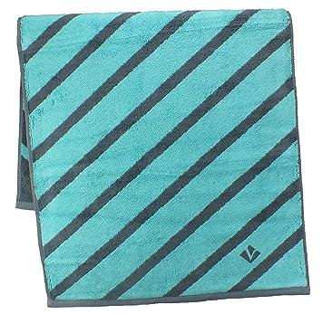 Vossen Bath Towels, 100% Cotton, Urbanfeeling Capriblue, 2 Handtücher 50 X  100