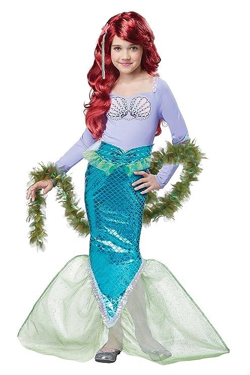 California Costumes Magical Little Mermaid Ariel Costume L: Amazon ...