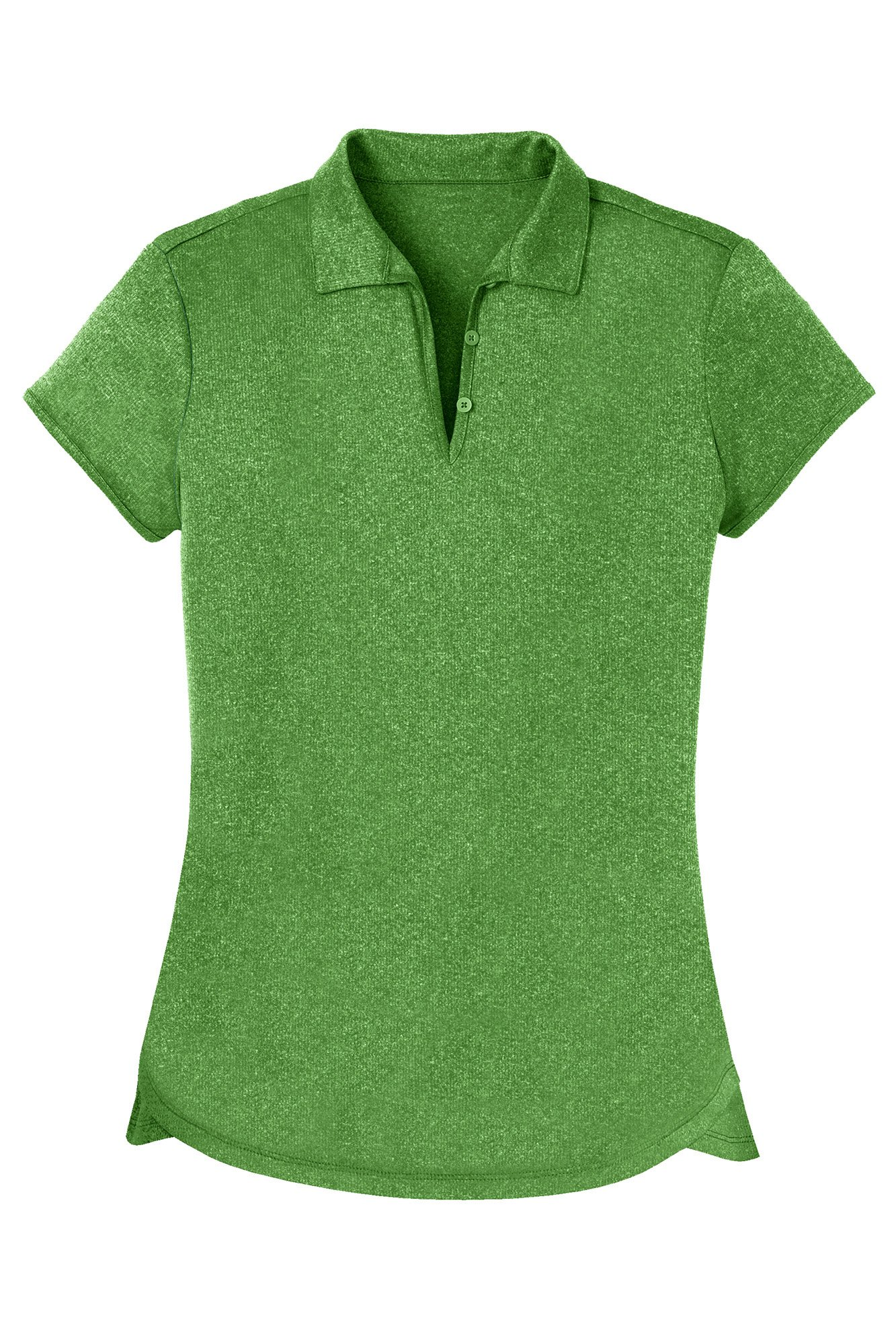 Opna Women's Ladies Moisture Wicking Athletic Golf Polo Shirts Tops & Tees Green by Opna