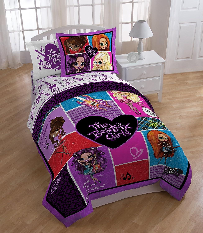 Twin//Full Reversible Comforter Popstar The Beatrix Girls