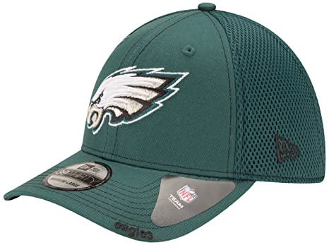 Philadelphia Eagles New Era NFL 39THIRTY Blitz Neo Fitted Hat - Green a3585aaf2