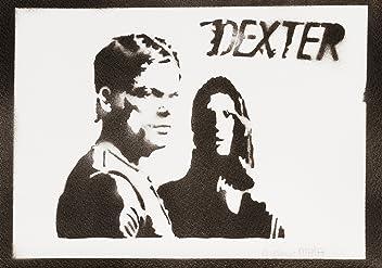 Póster Dexter Y Debra Morgan Grafiti Hecho A Mano - Handmade Street Art - Artwork