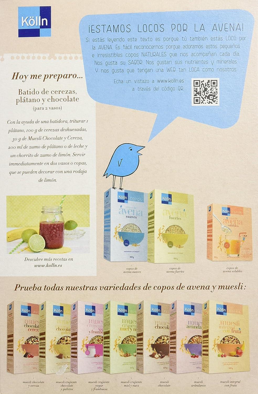 Kölln Mueslis de Avena con Chocolate y Cerezas - 500 gr: Amazon.es: Alimentación y bebidas