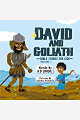 David and Goliath (Bible Stories For Kids Book 1) Kindle Edition