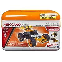 Meccano - 6027720 - Mallette Voiture à Rétro Friction Meccano Junior
