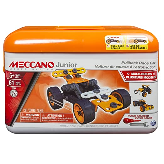 Meccano Junior Tool Box - Orange