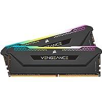 Corsair Vengeance RGB PRO SL 32GB (2x16GB) DDR4 3600Mhz C18 Black Heatspreader Desktop Gaming Memory