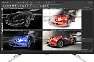 "Philips Computer Monitors BDM4350UC 43"" LED Monitor, 4K UHD IPS, MultiView PIP/PBP, USB 3.0 hub, Speaker, VESA, 4Yr Advance Replacement Warranty, Black"