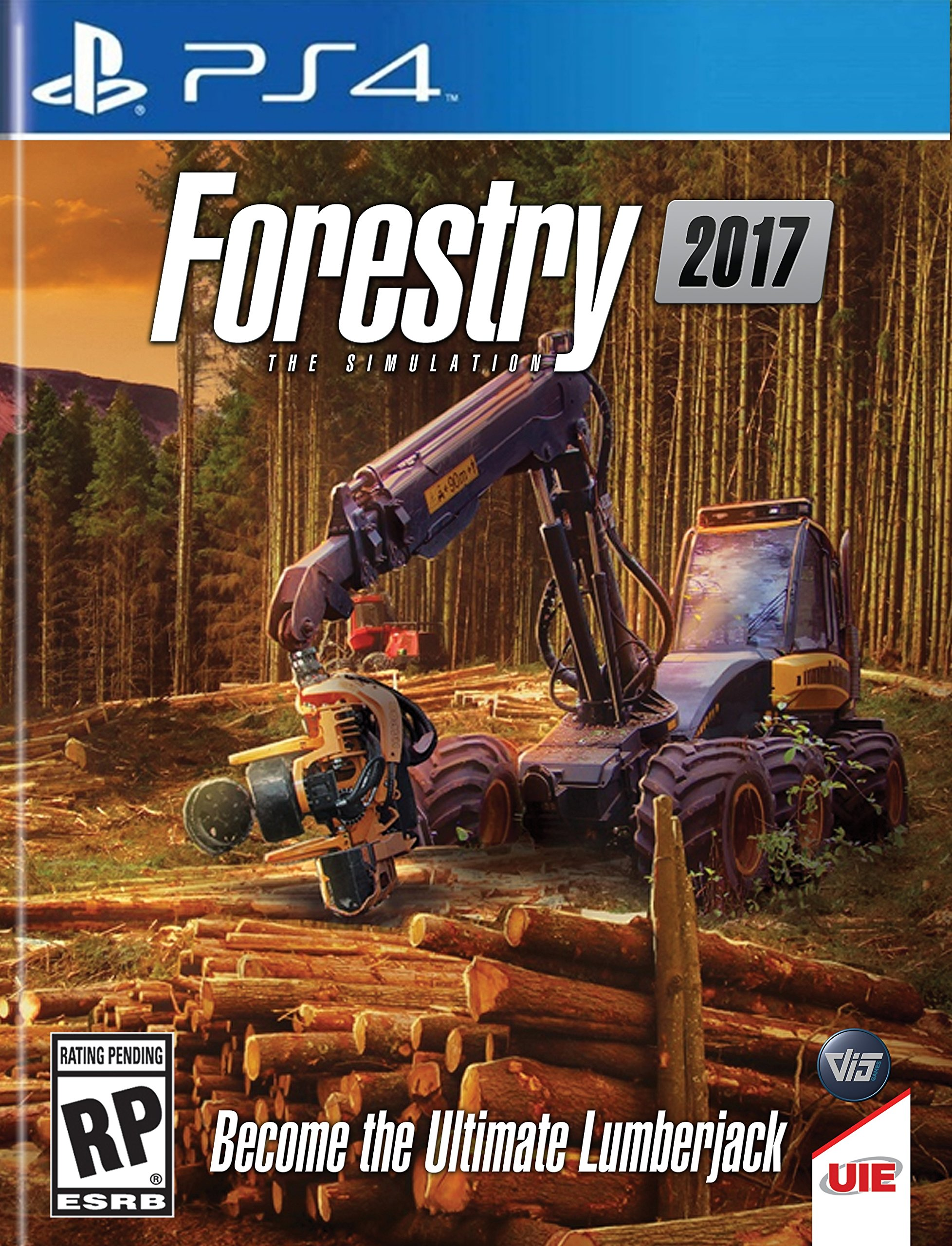 Forestry 2017: The Simulation - Sony PlayStation 4 - Standard Edition
