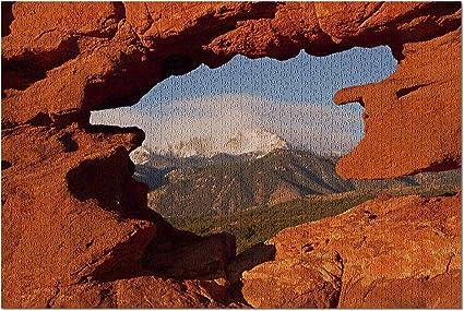 Amazon.com Colorado Springs, Colorado , Pikes Peak from